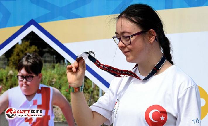 İzmir'de özel sporcular yarışı