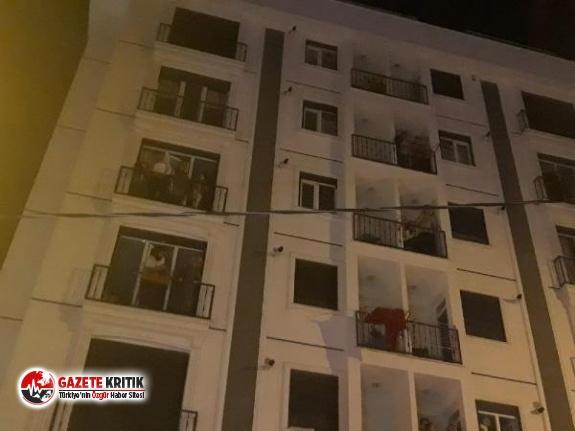 Kartal'da 6 katlı binada yangın: 1'i bebek 4'ü çocuk 15 kişi kurtarıldı