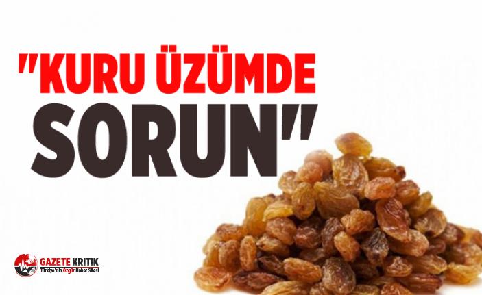 """""""KURU ÜZÜMDE SORUN"""""""
