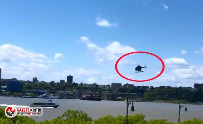 New York'ta helikopter nehre düştü