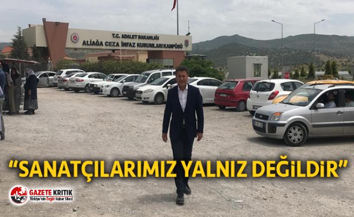 Sarıbal, Cezaevindeki Tiyatrocu Masatçı'yı Ziyaret Etti