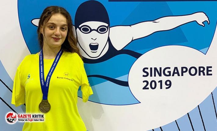 Sümeyye Boyacı, Singapur'dan altın madalya ile döndü