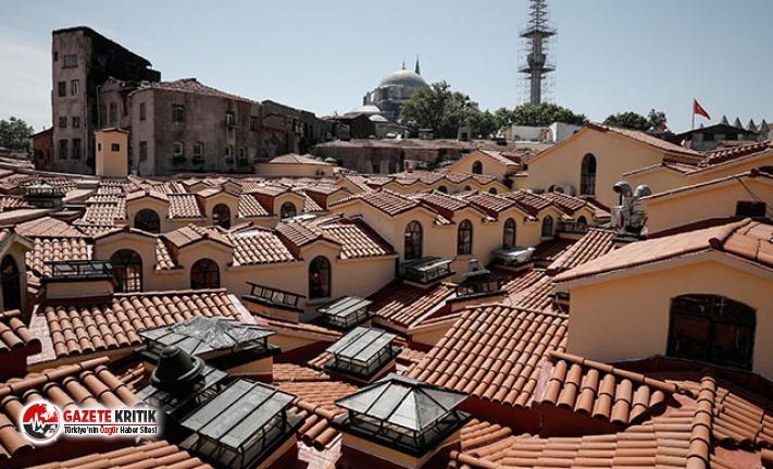 Tarihi Kapalıçarşı'nın çatısı ve alt yapısı tamamlandı