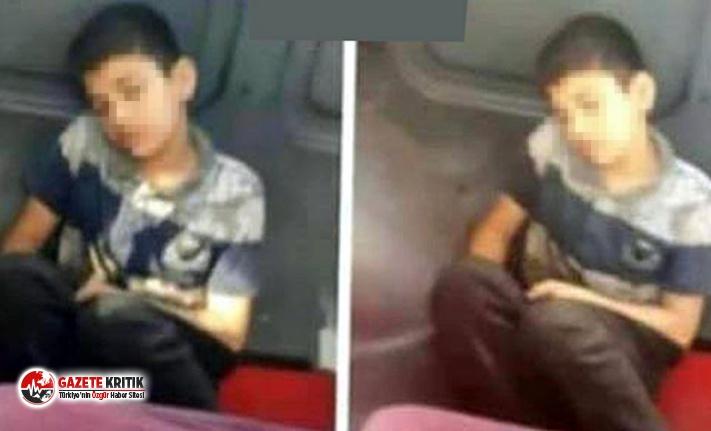 Üzeri kirli çocuğu koltuktan kaldırıp yere oturttuğu iddia edilen şoför, seferden men edildi