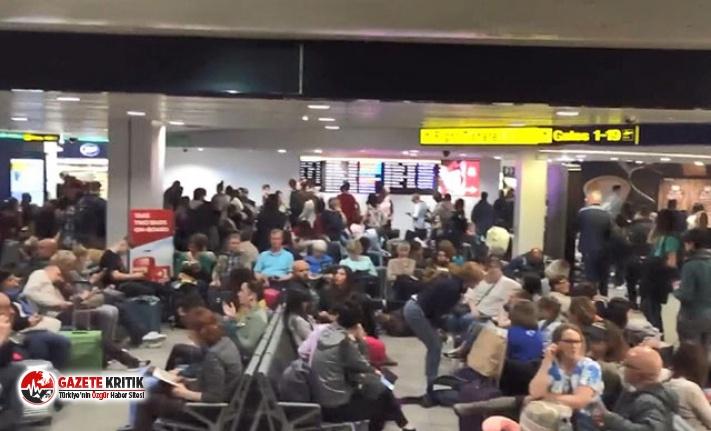 'Yakıt tedarik problemi' sonucu 87 uçuş iptal edildi