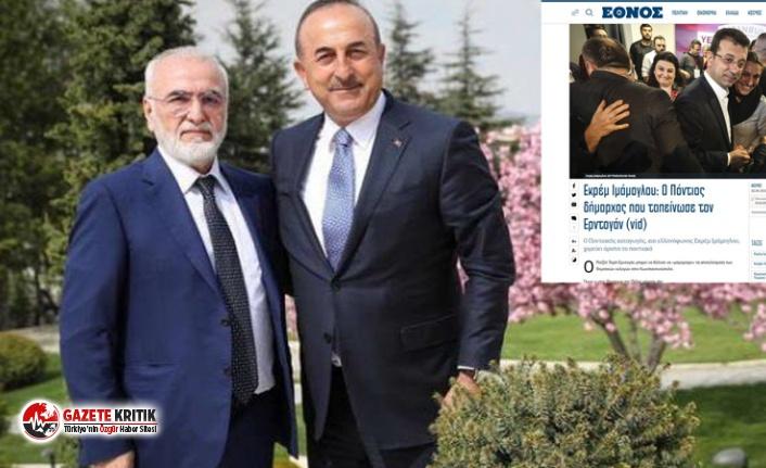 Yeniçağ yazarından iddia: Yunan gazetesi İmamoğlu'na kumpas mı kurdu?