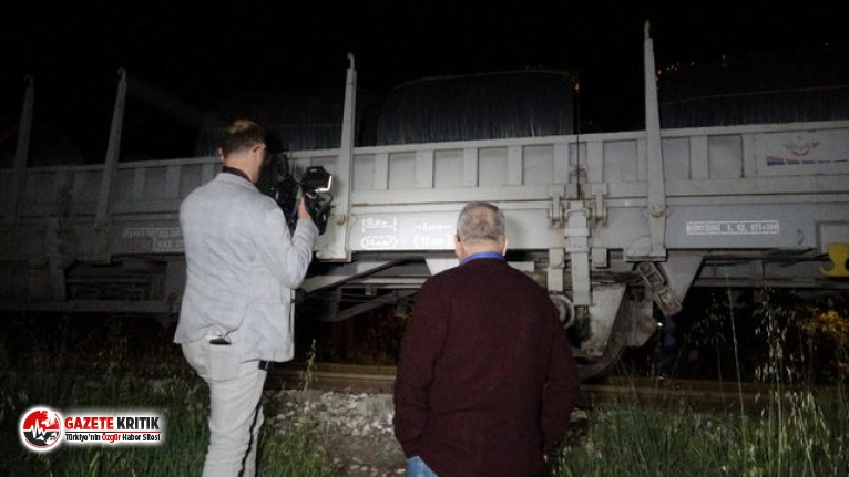 Yük treninin çarptığı yaşlı adam öldü