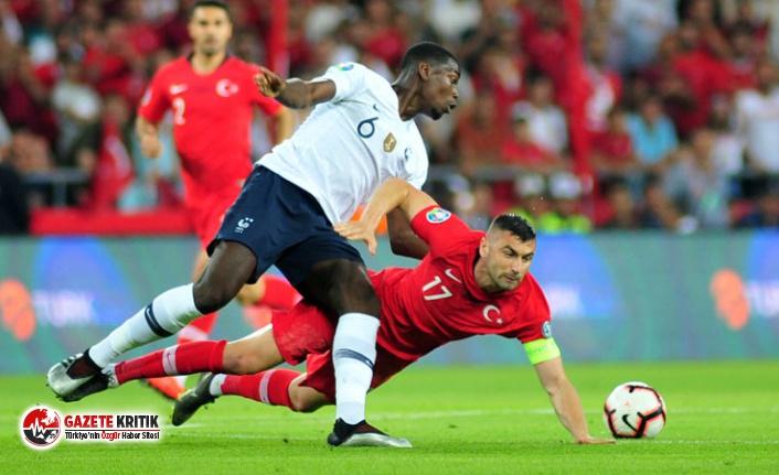 2020 UEFA Avrupa Futbol Şampiyonası Elemeleri: Türkiye: 2 - Fransa: 0