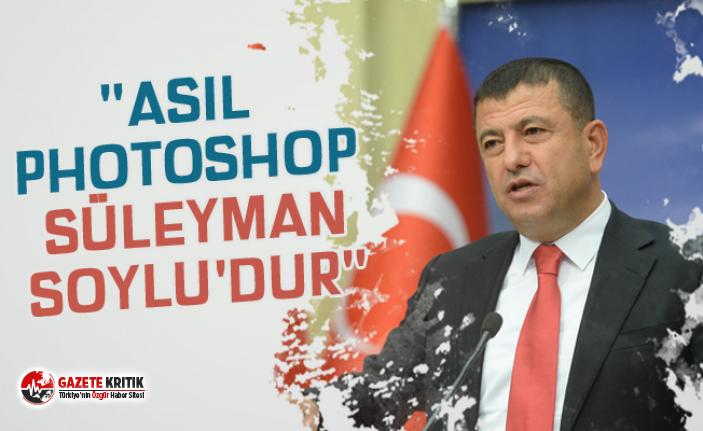 """AĞBABA: """"ASIL PHOTOSHOP SÜLEYMAN SOYLU'DUR"""""""