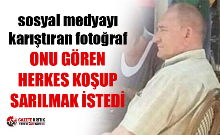 Atatürk'e benzeyen Alman turist sosyal medyayı karıştırdı