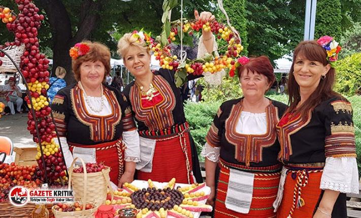 Bulgaristan'daki Kiraz Festivali renkli görüntülere sahne oldu