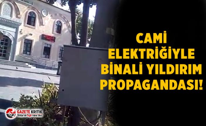 CHP'Lİ MAHMUT TANAL:CAMİ ELEKTRİĞİNİ AKP STANDINA BAĞLADILAR!