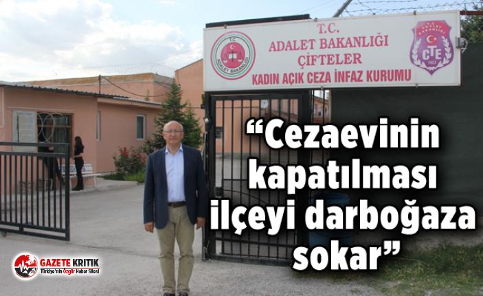CHP'li Çakırözer, Eskişehir Çifteler Kadın Açık Cezaevi'nin kapatılması planından vazgeçilmesini istedi
