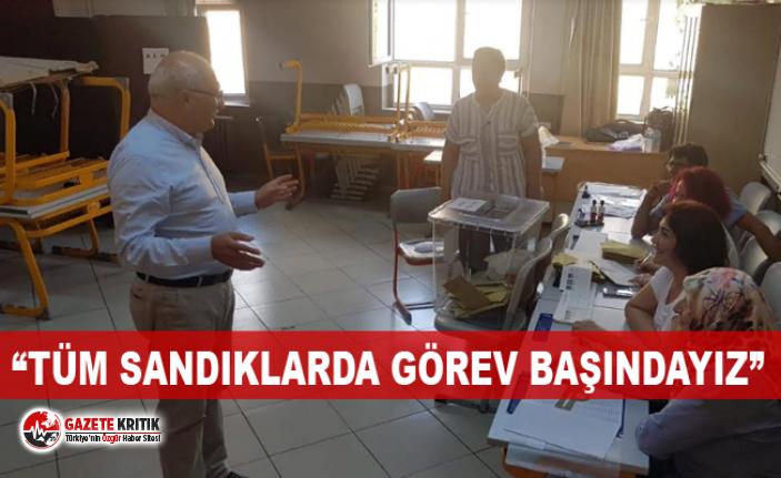 CHP'li Çakırözer İstanbul'da sandık nöbetinde