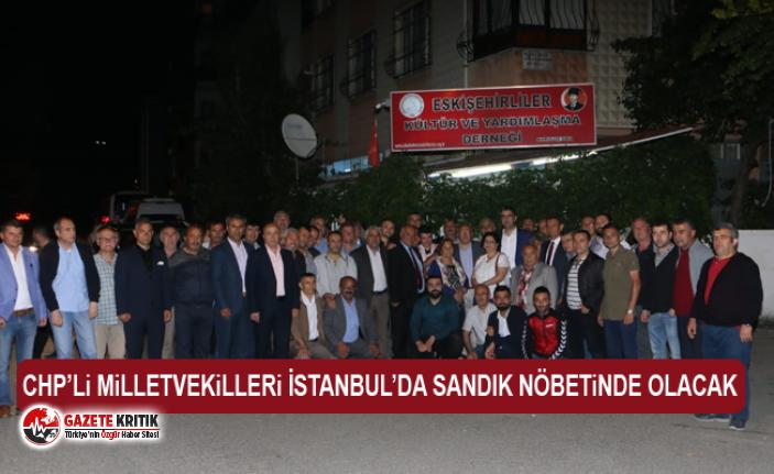 CHP'li Çakırözer'denİstanbullu'lara 23 Haziran çağrısı