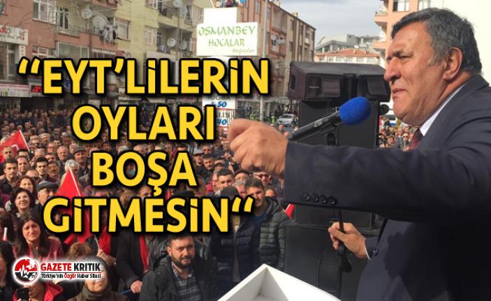 CHP'li Gürer'den Emeklilikte Yaşa Takılanlara Çağrı: Geçerli oy verin