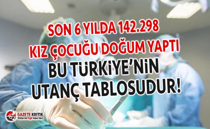 CHP'Lİ SUZAN ŞAHİN: SON 6 YILDA 142.298 KIZ ÇOCUĞU DOĞUM YAPTI!