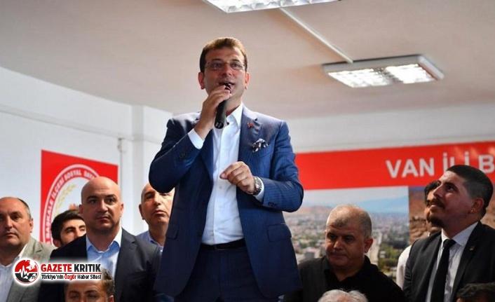 İmamoğlu: Gariplerin, işsizlerinin yanında bir belediye başkanı olacağım