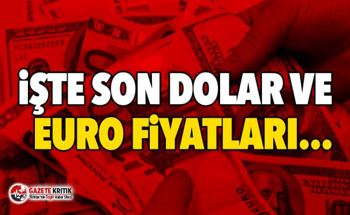İşte son Dolar ve Euro fiyatları...