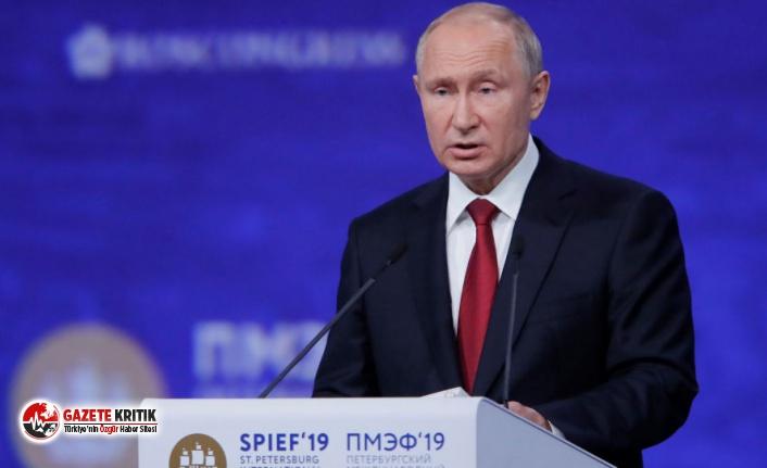 Putin: Mevcut uluslararası ticari ilişkiler modeli krize girdi