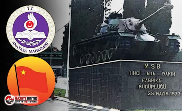Tank Palet Fabrikası AYM'ye taşındı