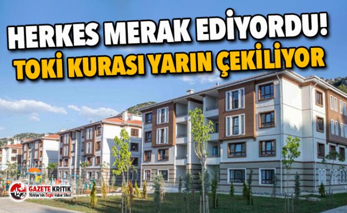 TOKİ'nin Ankara Sincan konut kurası yarın yapılacak