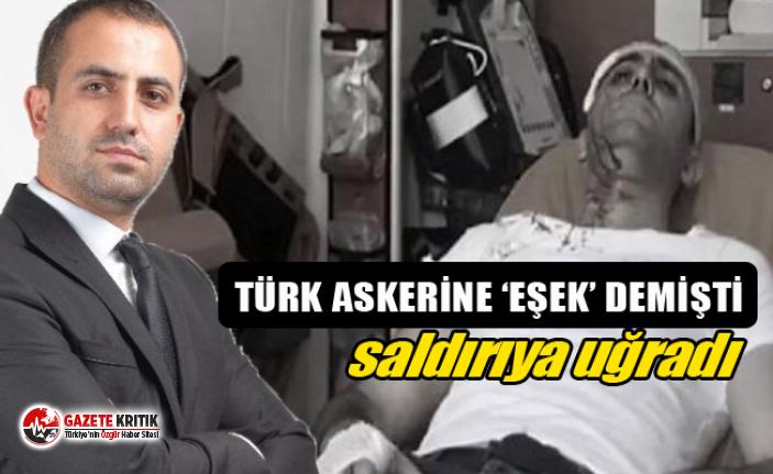 Türk askerine ''eşek'' diyen Akit haber müdürüne saldırı: 4 gözaltı