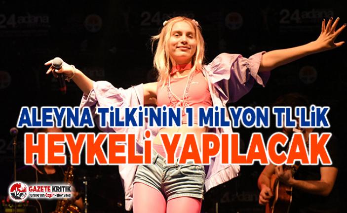 Aleyna Tilki'nin 1 milyon TL'lik heykeli yapılacak