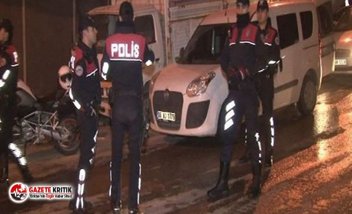 Ankara'da asayiş uygulaması