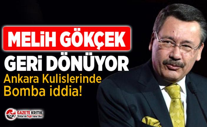 Ankara'da bomba iddia: Melih Gökçek'e yeni görev!