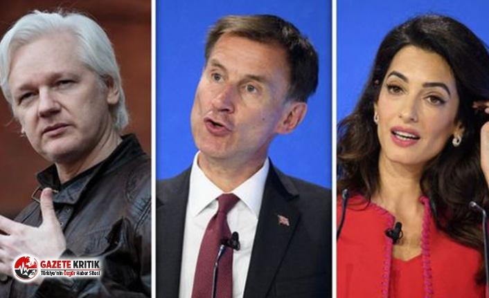 Britanya Dışişleri Bakanı'nın Basın Özgürlüğü Özel Elçisi Clooney'den Assange'a 'ülkeden kaçma' tavsiyeleri