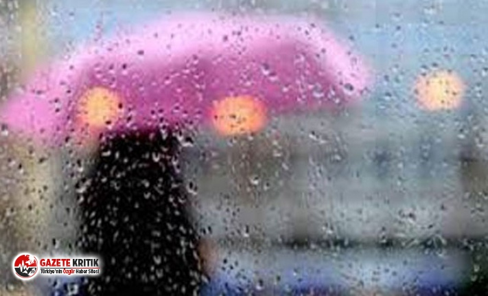 Çatalca, Arnavutköy ve Büyükçekmece'ye kuvvetli yağış uyarısı