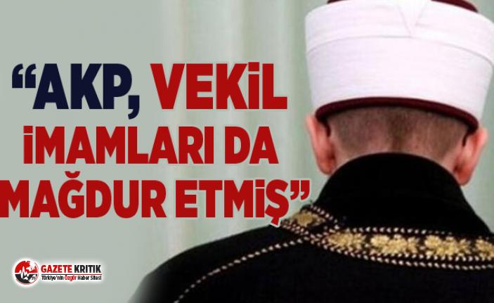 """CHP'li Gürer: """"AKP, Vekil İmamları da mağdur etmiş"""""""
