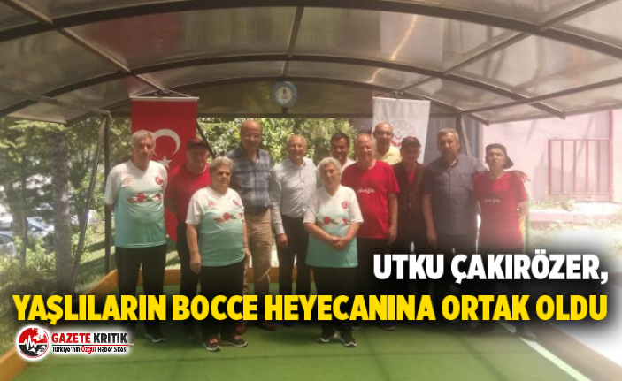 """CHP'li Utku Çakırözer: """"Deneyimli büyüklerimizin heyecanına ortak olmak mutluluk verdi"""""""