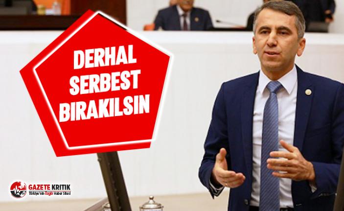 CHP'li Serkan Topal: Volkan Altıok ve Mehmet Demir derhal serbest bırakılmalıdır