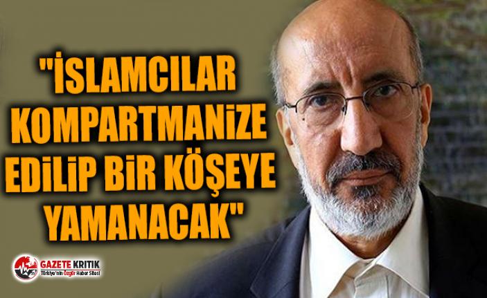 Dilipak: Babacan'ın partisinde İslamcı isimler merkezde değil