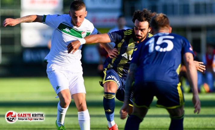 Fenerbahçe, Bursaspor'u mağlup etti