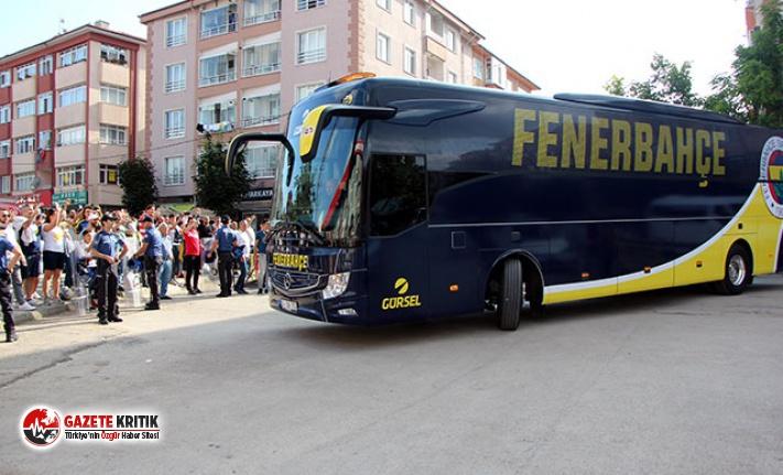 Fenerbahçe'ye Bolu Stadı'nda coşkulu karşılama