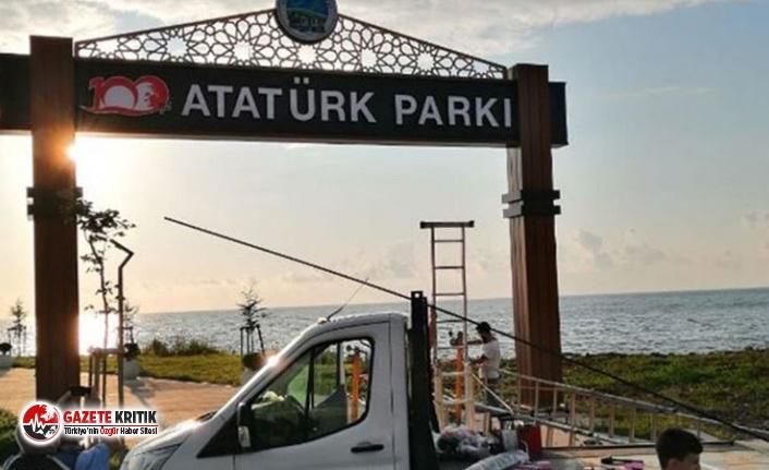 Fındıklı Belediye Başkanı: Kendimi yakarım, Atatürk tabelasını indirmem