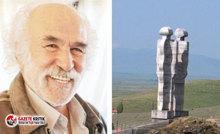 Heykeltıraş Mehmet Aksoy: Yeni heykelim barışı ve şehitlerin çığlığını anlatacak