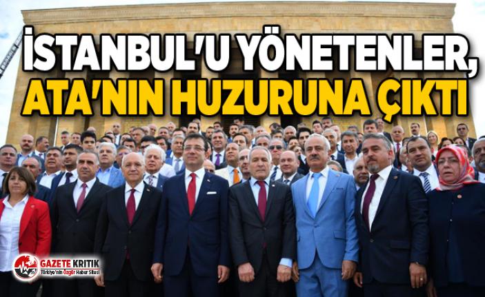 İstanbul'u yönetenler, Ata'nın huzuruna çıktı