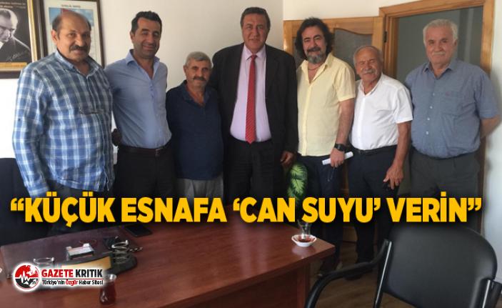 """""""KÜÇÜK ESNAFA 'CAN SUYU' VERİN"""""""