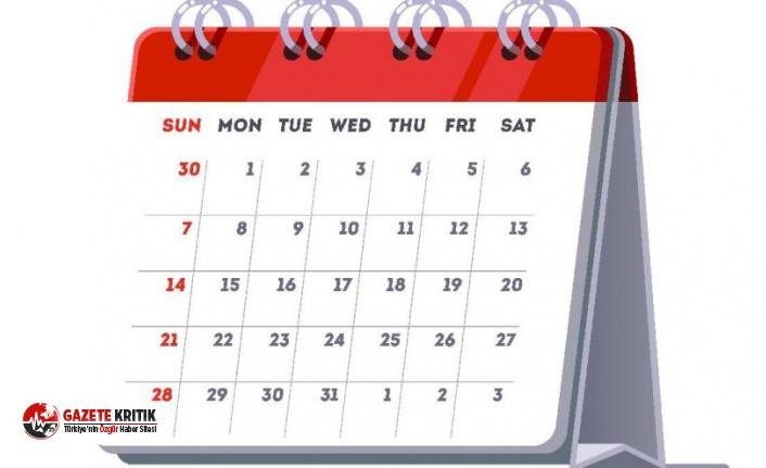 Kurban Bayramı'nda kaç gün tatil olacak?