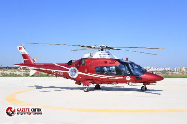 Mersin Büyükşehir'in hava taksi uygulamasına büyük ilgi