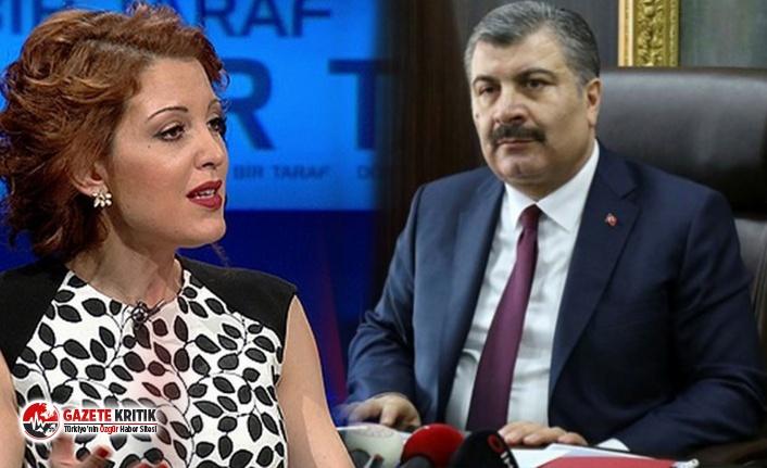 Nagehan Alçı'dan Sağlık Bakanı Koca'ya: Dikkatli olun!