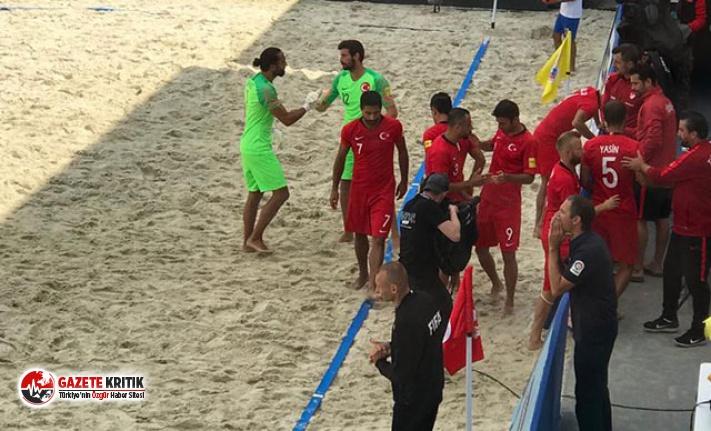 Plaj Futbolu Milli Takımı, Dünya Kupası elemelerinde mağlup