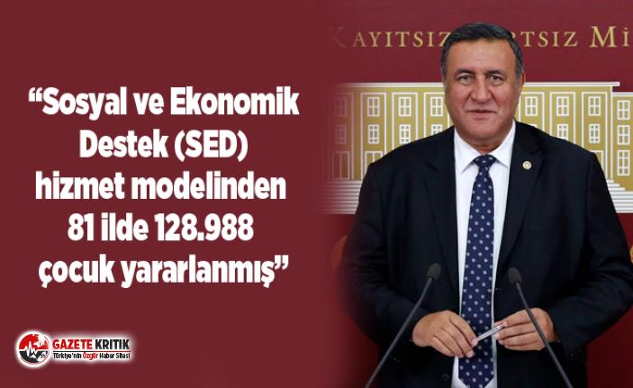 Sosyal ve Ekonomik Destek (SED) hizmet modelinden 81 ilde 128.988 çocuk yararlanmış
