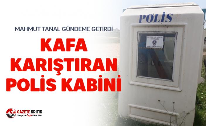 TUZLA'DA KAFA KARIŞTIRAN POLİS KABİNİ