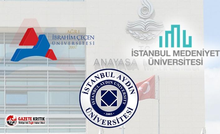 Üç üniversite rektörlüğünden akademisyenlere imza baskısı!