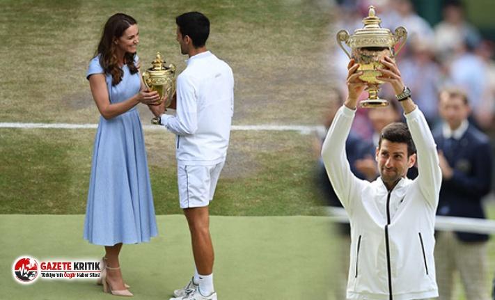Wimbledon'da zafer Novak Djokovic'in oldu